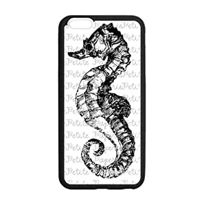 """Seahorse Theme - High-end Custom, TPU(Laser Technology) Material Back Case For iPhone 6 Plus 5.5"""""""