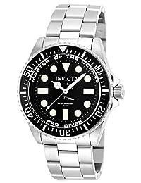 Invicta Men's 20119 Pro Diver Analog Display Swiss Quartz Silver Watch