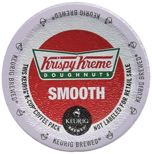Krispy Kreme Smooth Light Roast Coffee 48 K-Cups (Cream Coffee Smooth)