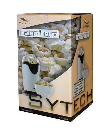 Palomitero Palomitera para preparar Palomitas de Maiz con Aire Caliente Sin Aceite y con dosificador para derretir tambien mantequilla 2678: Amazon.es: ...
