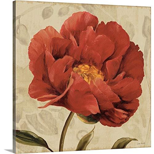 Floral Romance II C Canvas Wall Art Print, 30 x30 x1.25