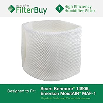 14906 Sears Kenmore Humidifier Wick Filter. Fits humidifier model numbers 14410, 14411, 14906, 15412, 29979, 29980, 29981, 29982, 144105, 144106, 144107, 144108, 144115, 144116, 144117, 144118, 154120, 299795, 299796C, 299805C, 299810, 299811, 299812C and 299825C. Designed by AFB in the USA.
