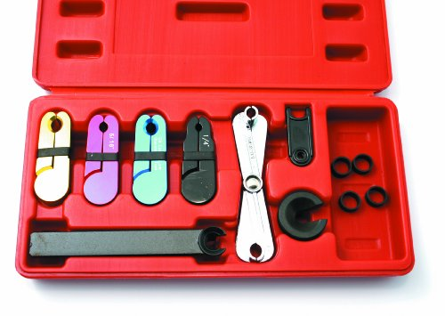 CTA Tools 3470 Fuel and Trans. Line Disconnect Tool Set, 8-Piece