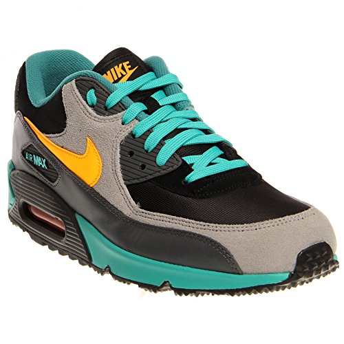 Nike Men's Air Max 90 Winter Prm Black/Lsr - All Black Air Max 90