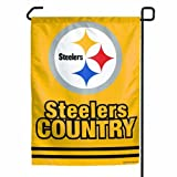 NFL Pittsburgh Steelers Garden Flag - Steelers Country by WinCraft