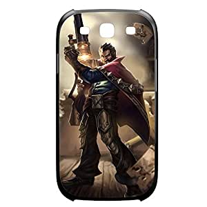 Graves-002 League of Legends LoL case cover Samsung Galaxy Note3 Plastic Black