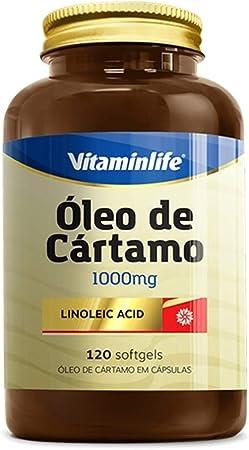 CA Linoleic Acid Óleo de Cártamo e Ácido Linoleico - 120 Cápsulas - VitaminLife, VitaminLife