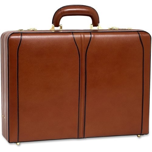 Mckleinusa Turner 80484 Carrying Case (Attach ) For File Folder, Business Card, Cellular Phone, Pen, Calculator . Brown . Leather ''Product Type: Accessories/Carrying Cases''