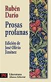 Prosas profanas (Literatura / Literature) (Spanish Edition)