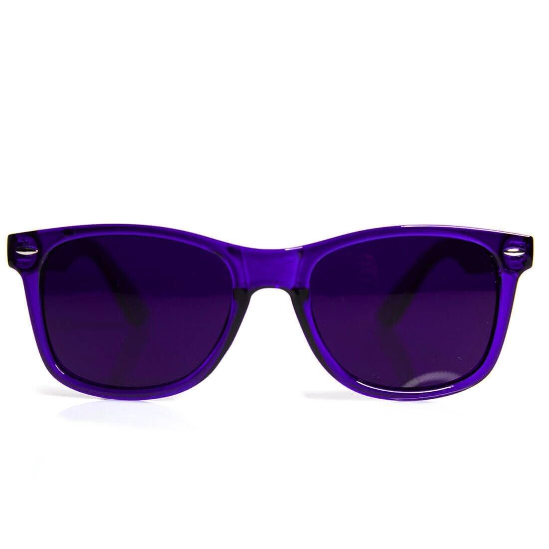 e28217356c Galleon - GloFX Indigo Color Therapy Glasses Chakra Glasses Relax Glasses