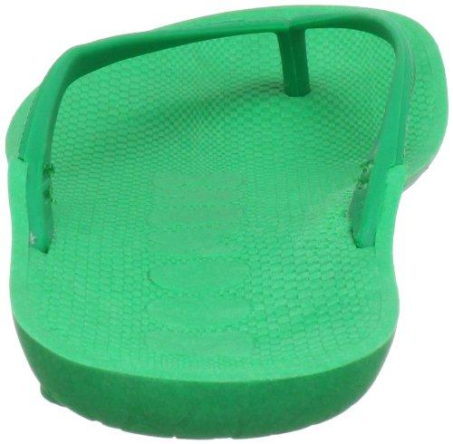 Boombuz Lilli basic naked Damen Zehentrenner Grün (Green)