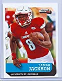 "LAMAR JACKSON 2016 ""1ST EVER PRINTED"" SI 1 OF 9 COLLEGE ROOKIE CARD! LOUISVILLE CARDINALS!!"
