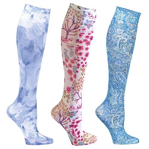 21b187f759b Women s Mild Compression Wide Calf Knee High Support Socks. by celeste stein  designs