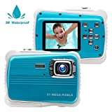 Best Digital Camera For Kids Waterproofs - Kids Camera,21MP HD 3M Waterproof Digital Camera Kids,8MP Review