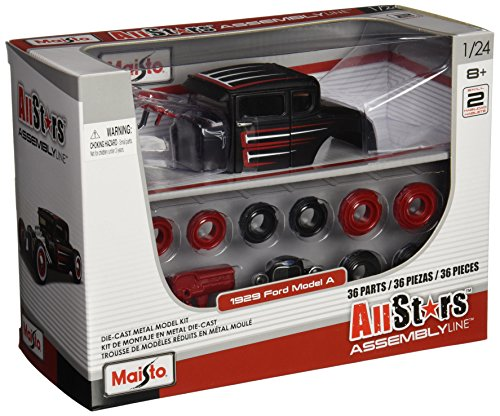 - Maisto 1:24 Scale All Star Assembly Line 1929 Ford Model A Diecast Model Kit