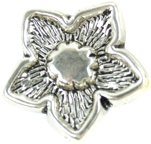 Midwest Design Imports Flower Slider Paracord Charm, Silver from Midwest Design Imports, Inc.
