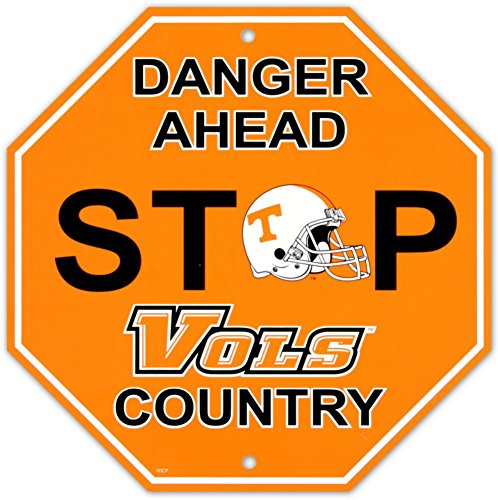 Fremont Die NCAA Tennessee Vols Stop Sign, 12