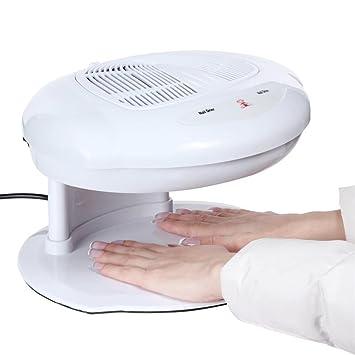 Secadora de uñas Ventilador Viento caliente y frío Soplador de aire de uñas Herramienta de manicura