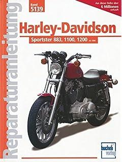 Harley Davidson Sportster 883, 1100, 1200 ab Baujahr 1986-1992: Handbuch für Pflege,…