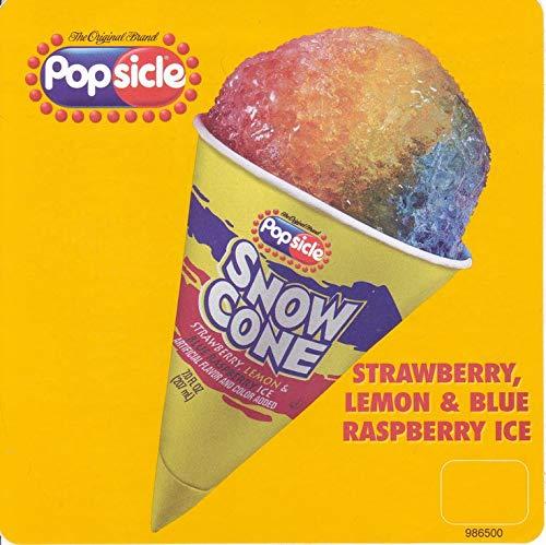 Snow Cone Snocone SNO Stick Ice Cream Truck Decal Sticker stickers Food Softie Deserts Decals Adhesive Color