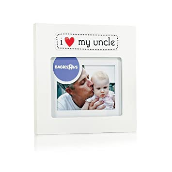 Amazoncom Babies R Us I Love My Uncle Frame 4 X 3 Baby