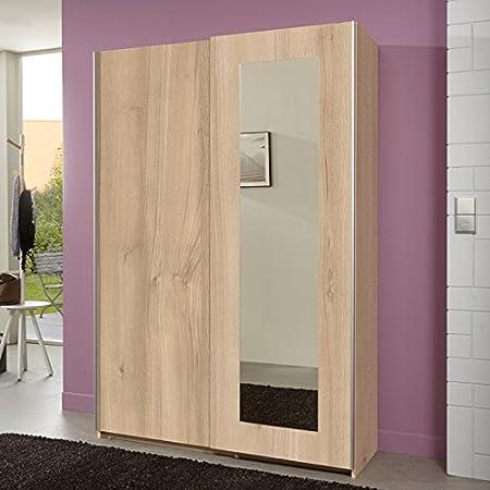 Armario de puertas correderas 126 cm preciosos haya Surepromise armario para baño: Amazon.es: Hogar