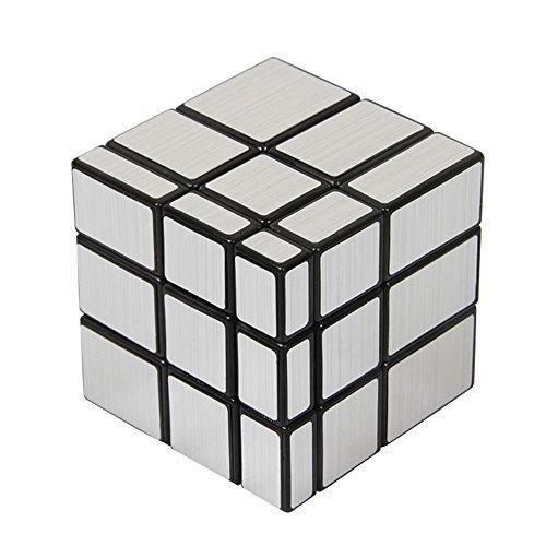 Nakimo Mirror Cube 3x3 Magic Cube Silver (Silver Three Colour)