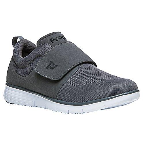 it Strap Walking Sneakers, Grey Mesh, EVA, Rubber, 11 W ()