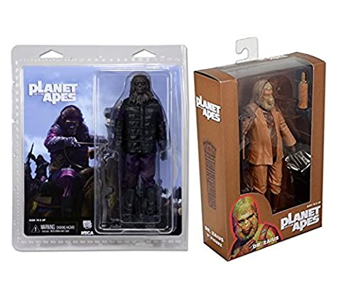 Planet of the Apes Gorilla Soldier & Dr. Zaius Action Figure 2-Pack (Planet Of Apes 2 Pack)