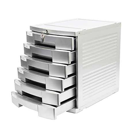 FPigSHS Archivadores de fichas Archivador de Escritorio Archivador de Oficina Archivador Armario Caja de almacenaje Tipo