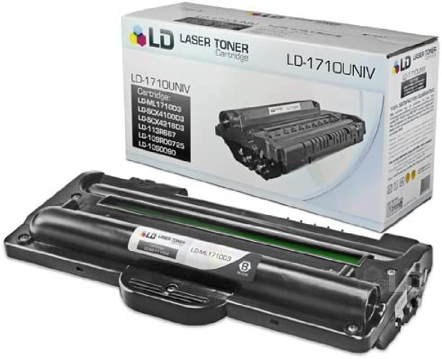 Amazon.com: LD COMPATIBLES SAMSUNG ML-1710D3 tóner y ...