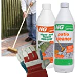 HG Patio Cleaning Kit (contains: HG H...