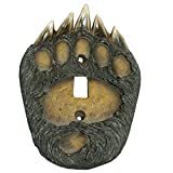 LL Home 12956 Bear Paw Single Switch Cover Plate