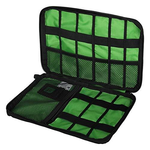 DOBTSore New Organizer System Kit Case Storage Bag Digital Gadget Devices USB Cable Earphone Pen Travel Insert Portable organizador