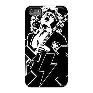 Shock Absorbent Cell-phone Hard Covers For Iphone 6 With Unique Design Stylish Metallica Series KerryParsons