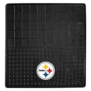 "31"" x 31"" NFL Pittsburgh Steelers Heavy-Duty Vinyl Cargo Mat"