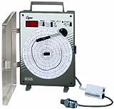 Supco CR87P Pressure Circular Chart Recorder, 0/500 psi, 6'' Chart Diameter, 110-120V Voltage
