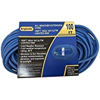 Brightville EHCEXTC160327B 16-3 100' All Weather Cord