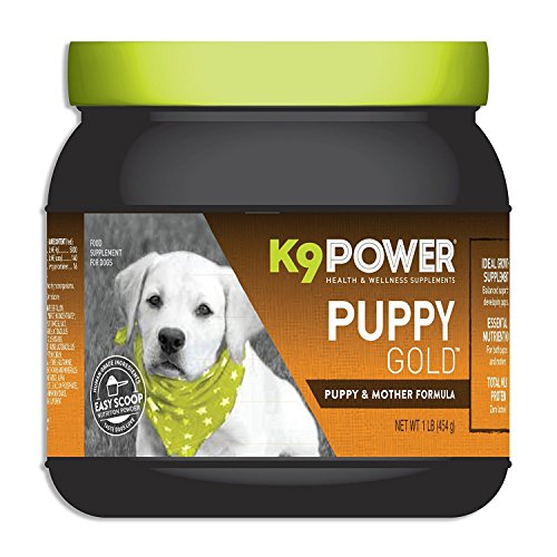 K9-Power - 'Puppy Gold' Growing Puppy Nutrition Formula