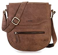 LEABAGS Seoul genuine buffalo leather city bag in vintage style