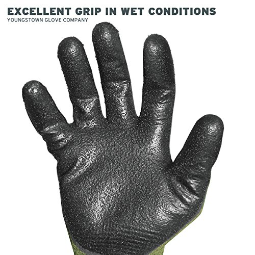 Youngstown Glove 12-4000-60-L FR 4000 Cut-Resistant Gloves, Large, Multicolored by Youngstown Glove Company (Image #3)