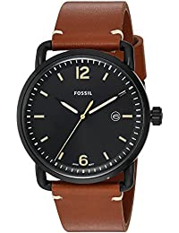 Fossil Men's FS5276 The Commuter Three-Hand Date Luggage...