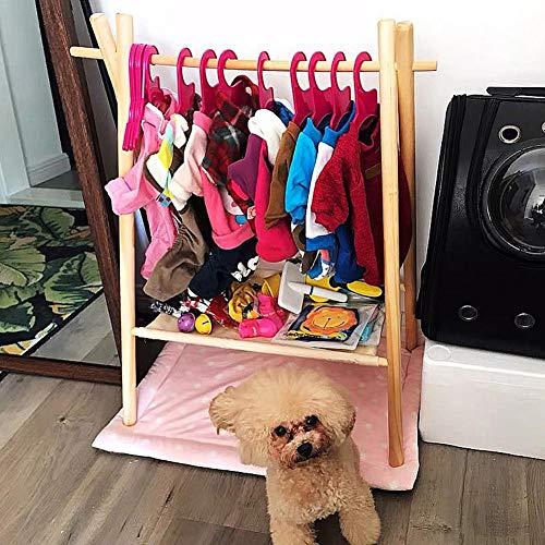Funarrow Pet Dog Cat Coat Rack, Solid Wood Simple Wardrobe Hat Storage, Simple and Beautiful by Funarrow (Image #5)
