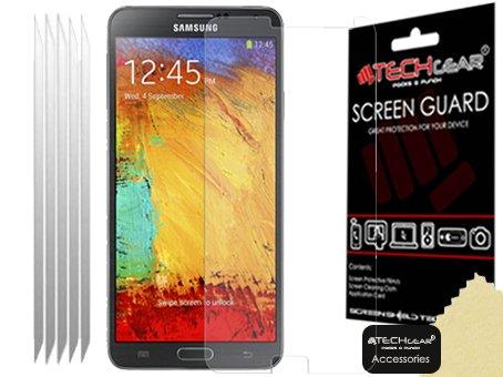 2 opinioni per Techgear- Confezione da 5 pellicole protettive Premium per display LCD, opache,