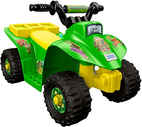 Power Wheels Nickelodeon Teenage Mutant Ninja Turtles Lil' Quad (Lil Turtle)