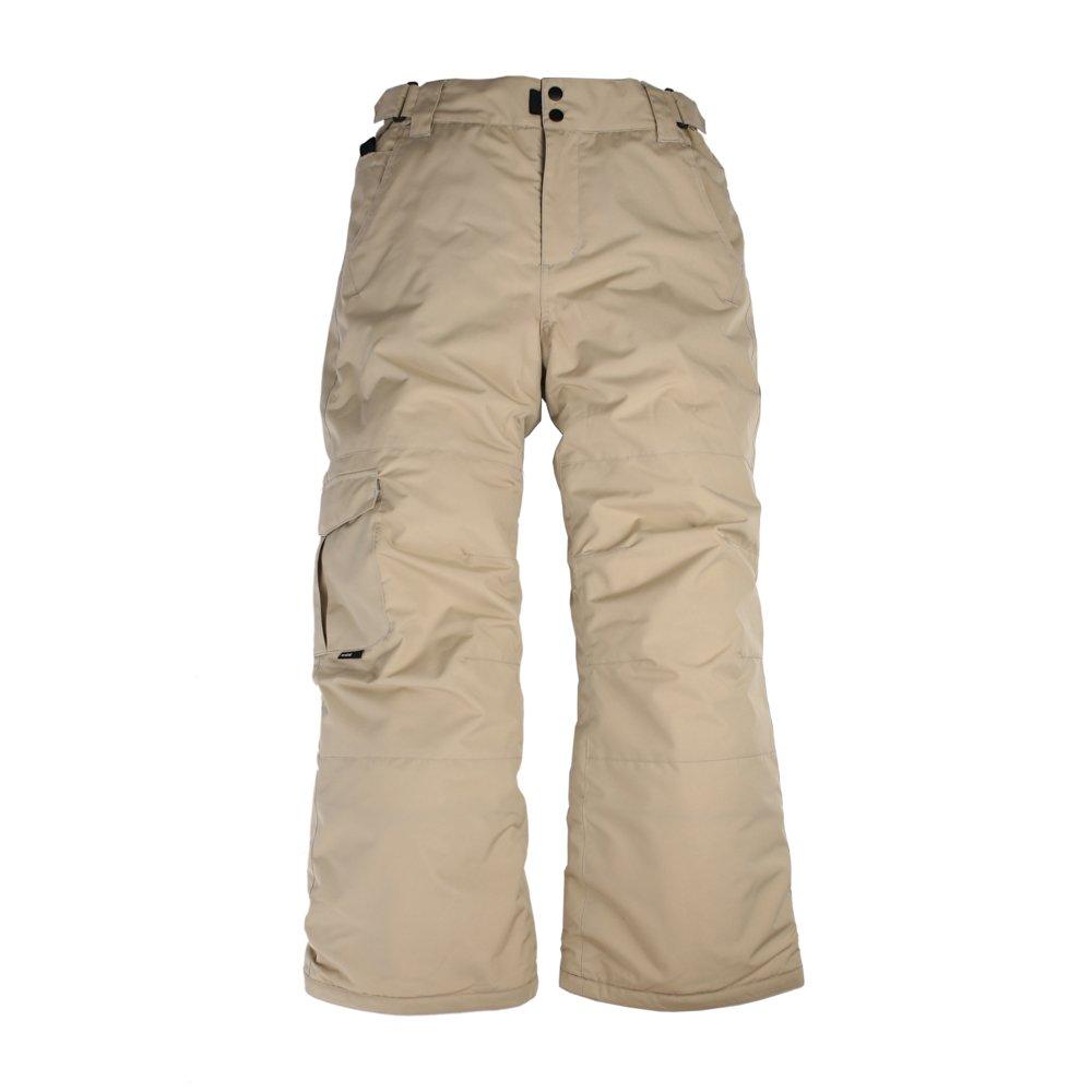 Ride Snowboard Outerwear Boy's Thunder Youth Pants, Khaki, X-Large