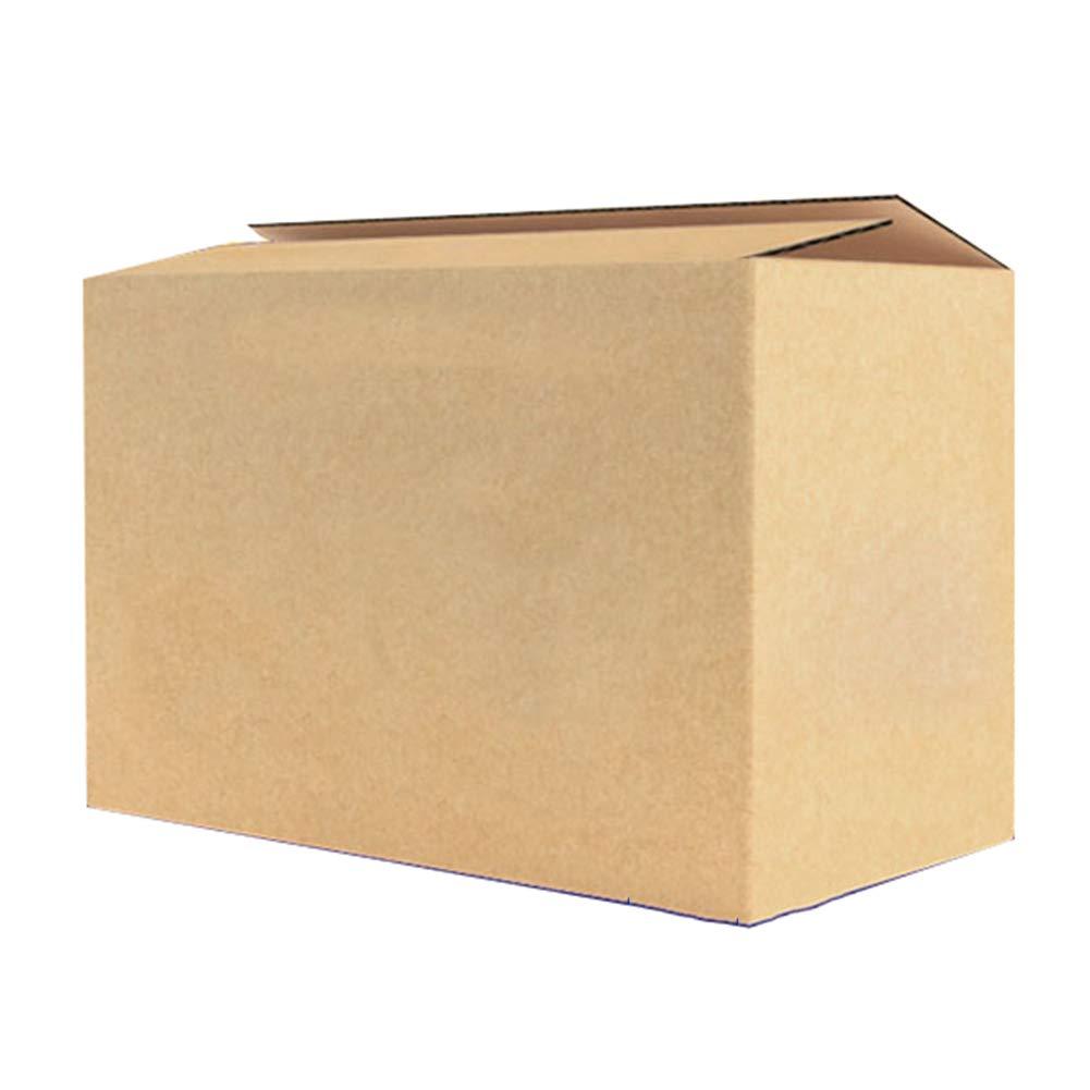 KKCF 段ボール1パックにつき10/20褐色タフ高容量郵送ストレージ用品段ボール箱 、4サイズ B07GLR2478 60x40x50cm|Quantity20 Quantity20 60x40x50cm