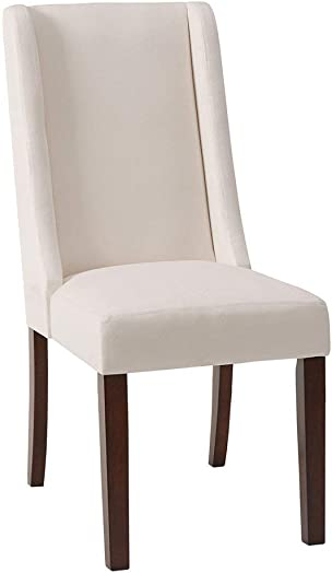 Madison Park Wing Dining Chair Set of 2 Cream/See Below