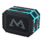 Mpow Portable Wireless Bluetooth Speaker,5W Strong Drive/Passive Radiator for Water resistant Shockproof and Dustproof Outdoor/Shower/MP3/PC - Blue