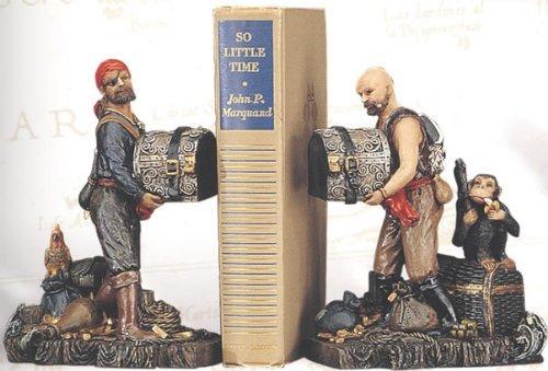 (Pirate Bookends)